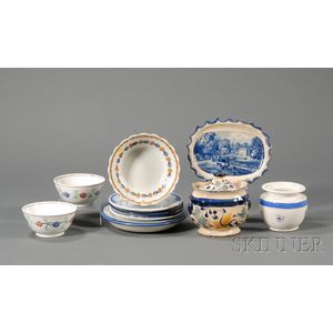 Twelve Assorted Ceramic Items