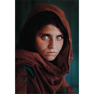 Steve McCurry (American, b. 1950)      Afghan Girl, Refugee Camp, Pakistan