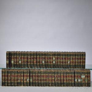 Decorative Bindings, Approximately Sixty Volumes.
