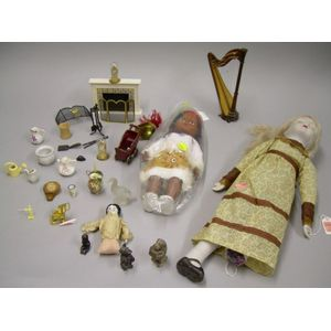 Small Group of Assorted Doll