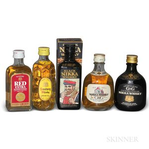 Mixed Japanese Minis, 5 50ml bottles