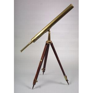 Brass 3-inch Refracting Telescope by Negretti & Zambra