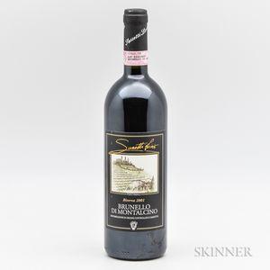 Sasetti (Livio Pertimali) Brunello di Montalcino Riserva 2001, 1 bottle