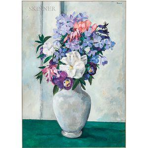Tosca Olinsky (American, 1909-1984)      Flowers in a Vase