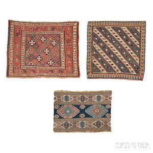 Three Soumak Bagfaces