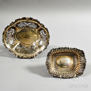 Sterling Silver Bowl and Dish