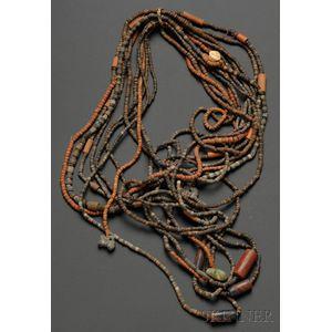 Ten Pre-Columbian Necklaces