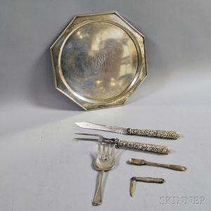 Group of Sterling Silver Tableware