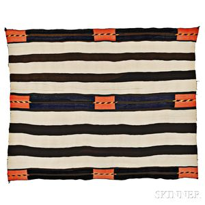 Navajo Transitional Wearing Blanket