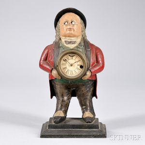 John Bull Blinking-eye Clock