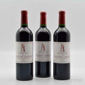 Chateau Latour 2000, 3 bottles