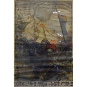 Unframed Lithographic Poster Titled Journee de l