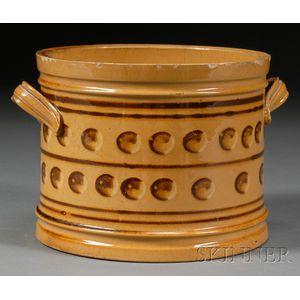 Mochaware Butter Tub