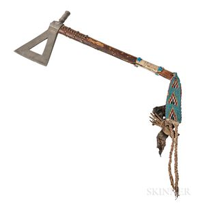 Plains Pewter Head Pipe Tomahawk