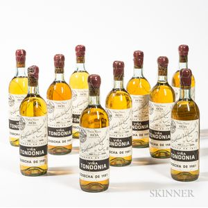 R. Lopez de Heredia Vina Tondonia Gran Reserva Blanco 1981, 10 bottles