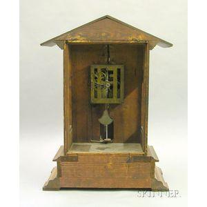 Black Forest Trumpeter Clock