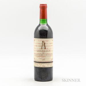 Chateau Latour 1977, 1 bottle