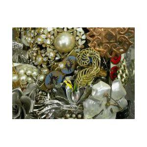 Large Assortment of Mid-to-Late Twentieth Century Costume Jewelry