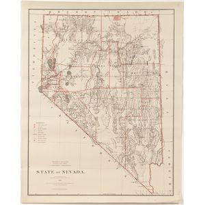 Mountain States and Territories, Seven General Land Office State and Territory Maps.