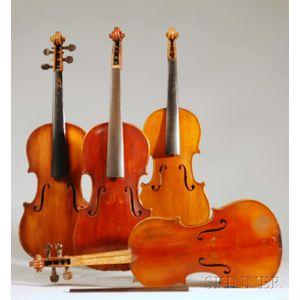 Four Violins, c. 1900-20