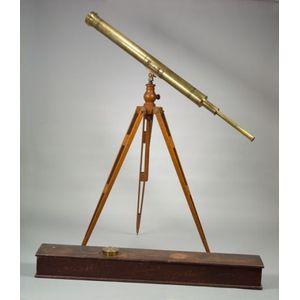 Astronomical 4-inch Refracting Telescope by Alvan Clark & Sons