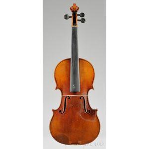 Markneukirchen Violin, Ernst Heinrich Roth, 1928