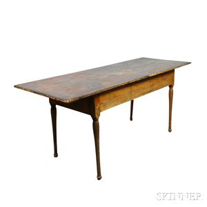 Queen Anne-style Maple Tavern Table