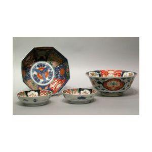 Four Imari Porcelain Bowls.