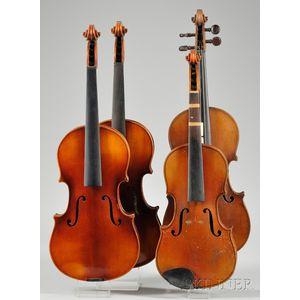 Four Modern German Violins