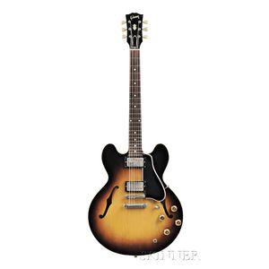 American Guitar, Gibson Incorporated, Kalamazoo, 1958, Style ES-335