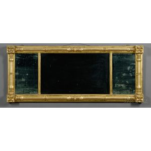 Classical Gilt-gesso Split Baluster Overmantel Mirror