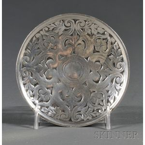 Tiffany & Co. Cast Sterling Butter Pat