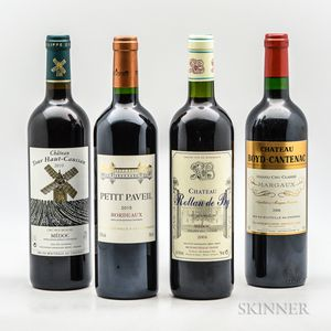 Mixed Bordeaux, 4 bottles Mixed Bordeaux, 4 bottles