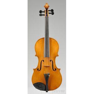 American Violin, Charles P. Coolidge, Orange, c. 1900