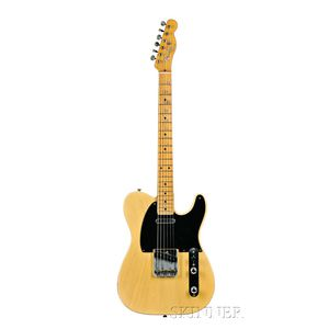 American Electric Guitar, Fender Musical Instruments, Fullerton, 1953,   Model Telecaster