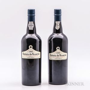 Quinta do Vesuvio Vintage Port 1995, 2 bottles