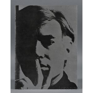 Warhol, Andy (1928-1987)   Catalog of the Exhibition, Institute of Contemporary Art, Boston