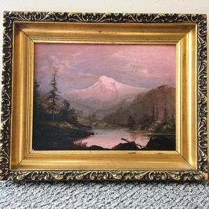 Attributed to William Samuel Parrott (American, 1843-1915)      View of Mount Hood.