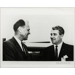 von Braun, Wernher, Four Photographs and a Slide.