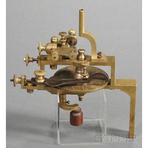 Small Brass Wheel Cutting Engine