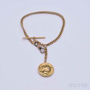14kt Gold and Diamond Locket