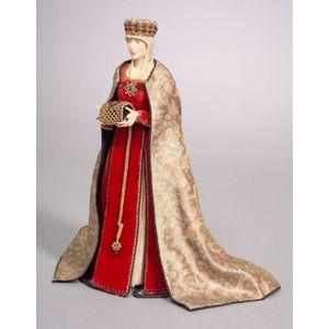 Dorothy Heizer Cloth Doll,Isabella of Castille
