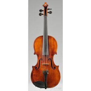 American Violin, Freeman Adams Oliver, Boston, 1900