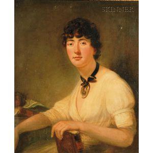 Attributed to Sir William Beechey (British, 1753-1839)      Portrait of Lady Bathurst