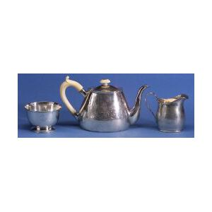 English George III Three Piece Tea Service