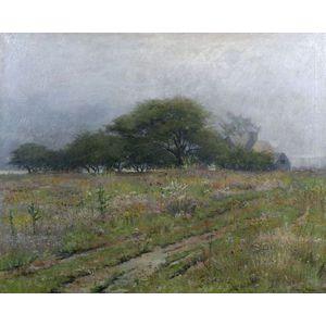 J. Ambrose Prichard (American, 1858-1905)  An October Morning, Duxbury, Massachusetts