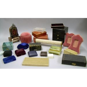 Lot of Assorted Jewelry Displays and Jewelry Boxes.