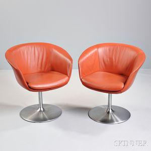 Pair of COR Swivel Chairs