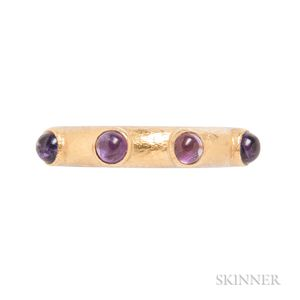 18kt Gold and Amethyst Ring, Elizabeth Locke