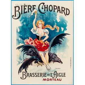 French School, 19th/20th Century      Bière Chopard-Brasserie de l